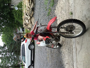 Looking to trade my 2006 Honda crf 230 for an atv or sell for ca