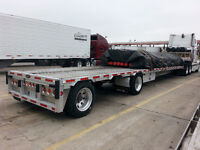 STEP FLAT BED TRAILER