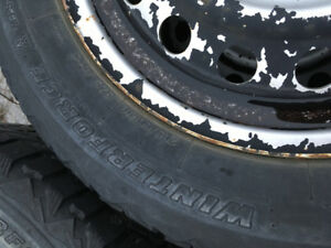 Looking to trade winter tires for rims