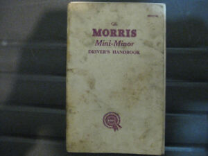 Morris Mini-Minor drivers handbook