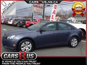 2014 Chevrolet Cruze LS Manual....includes 4 FREE winter tires!!