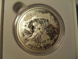 Royal Canadian Mint $200 For $200 Series Silver Coins