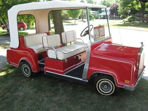 Custom Extended Rolls Royce Golf Cart