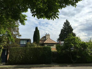 4+BR 3.5BA view house in Point Grey for rent $4500
