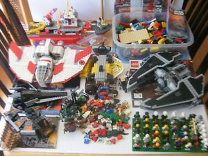Lego lot Star Wars/City +50 figures
