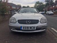 Mercedes SLK230 Compressor Automatic ***FULL HISTORY & 12 MONTHS MOT***