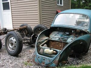 Beetle 1966 transmission Swing axle + axle beam ball join
