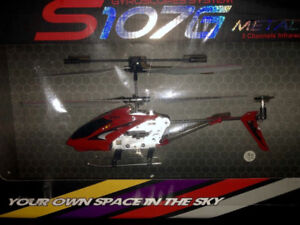 Brand New RC Helicopter (SYMA S107G)