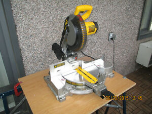 dewalt compound miter saw manual
