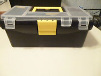new sm plastic toolbox