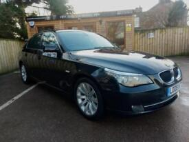 2008 BMW 520 2.0TD SE IN BLACK