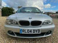 2004 BMW 325 Ci SE AUTOMATIC E46 COUPE FSH LEATHER 2.5i 6 CYLINDER 190 BHP CLEAN