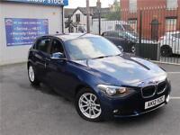 2012 12 BMW 1 SERIES 1.6 116D EFFICIENTDYNAMICS 5D 114 BHP DIESEL
