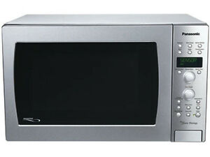 Microwave 1.5 Cu.Ft Panasonic Convection Oven Stainless Steel