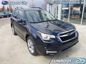 2018 Subaru Forester 2.5i Limited w/ Eyesight,SUNROOF,LEATHER,BL
