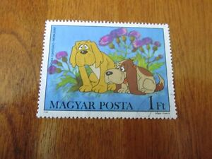 SUPERBE TIMBRE  CHIENS TOUTOUS STAMP