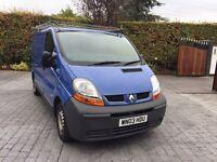 Renault trafic swb sl27 100hp 2003 REG 88k MLS £2750 no vat