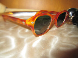 American Optical Horn Rim Sunglasses Rare Vintage Made In USA