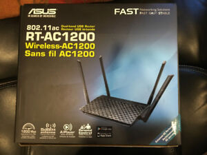 RT-AC1200 Wireless Dual-Band USB Router