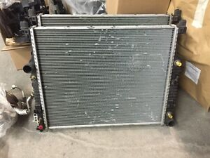 Mercedes Benz ml / R class radiator and ac condenser