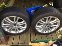 Genuine Vauxhall Insignia wheels x2