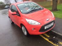 Ford ka 2010 ZETEC ONLY 39k NEW MOT £30 a year tax