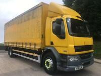 2011 11 DAF LF 55.220 euro 5, 25ft6 curtainsider, tail-lift, air suspension