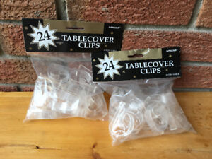 Table Cover Clips (48)