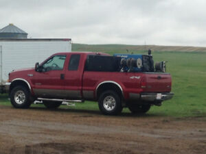 2003 f350 with welding skid