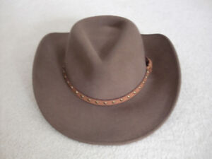 SMALL HIGH QUALITY UNISEX WESTERN COWBOY HAT-  100 OR BEST OFFER a42aa1520526
