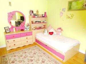 Chambre à coucher fille