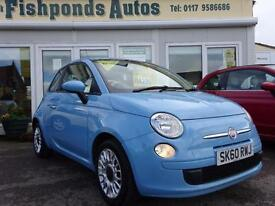 2010 Fiat 500 0.9 TwinAir Pop 3dr (start/stop)