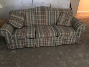 Queen size sofa bed and chair