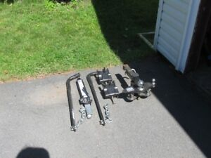 Trailer Hitch plus Stabilizer (Sway) Bars