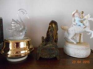 Copper Crystal Decanter Set, Music Boxes, Candlestick , Etc Sarnia Sarnia Area image 9
