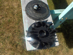 Top cap cooling fan for the 16.5 Briggs & Stratton Engine