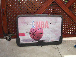 Basketball Board and hoop with net