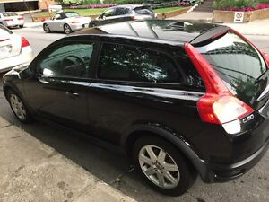 Volvo C30 black Noir very low mileage 88000