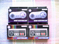 Two Tomee NES Nintendo Controllers..