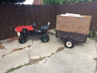 Westwood ride on mower sit on garden tractor tug