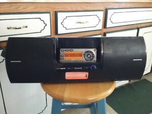 SiriusXM Stratus 7 and Boombox for sale