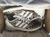 Worn once adidas zx Flux