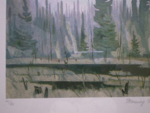 """Full Signature A.J. Casson-""""Morning Mist""""-Limited Edition Print Kitchener / Waterloo Kitchener Area image 10"""