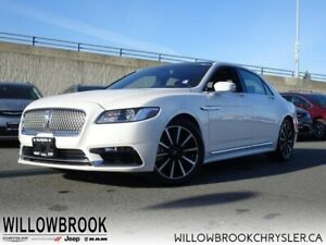 2018 Lincoln Continental Reserve AWD  - Low Mileage