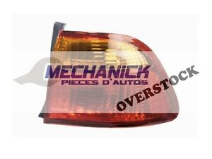 99-00 Civic Tail Lamp EXT RH berline NEUF OVERSTOCK
