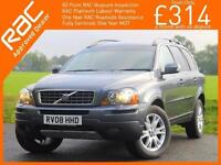 2008 Volvo XC90 2.4 D5 Turbo Diesel 185 BHP SE AWD4x4 4WD 7-Seater Geartronic 6