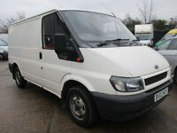 2002 Ford Transit 2.0TDI ( 100PS ) 2002MY 280 SWB LOW ROOF. NO VAT