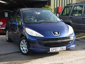 Peugeot 207 1.4 16v 90 5 DOOR 0NLY 68000M. MOT MAY 2017 2 OWNERS