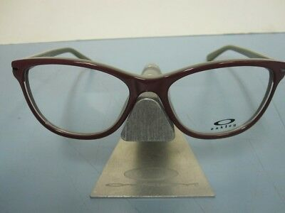 OAKLEY womens STAND OUT mahogany OX1112-0253 RX eyeglass frame NEW in box/case