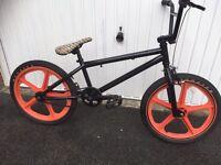 Mongoose BMX with tuff 2 mag wheels
